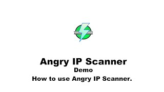 How to search, ping, and trace an IP with Angry IP Scanner