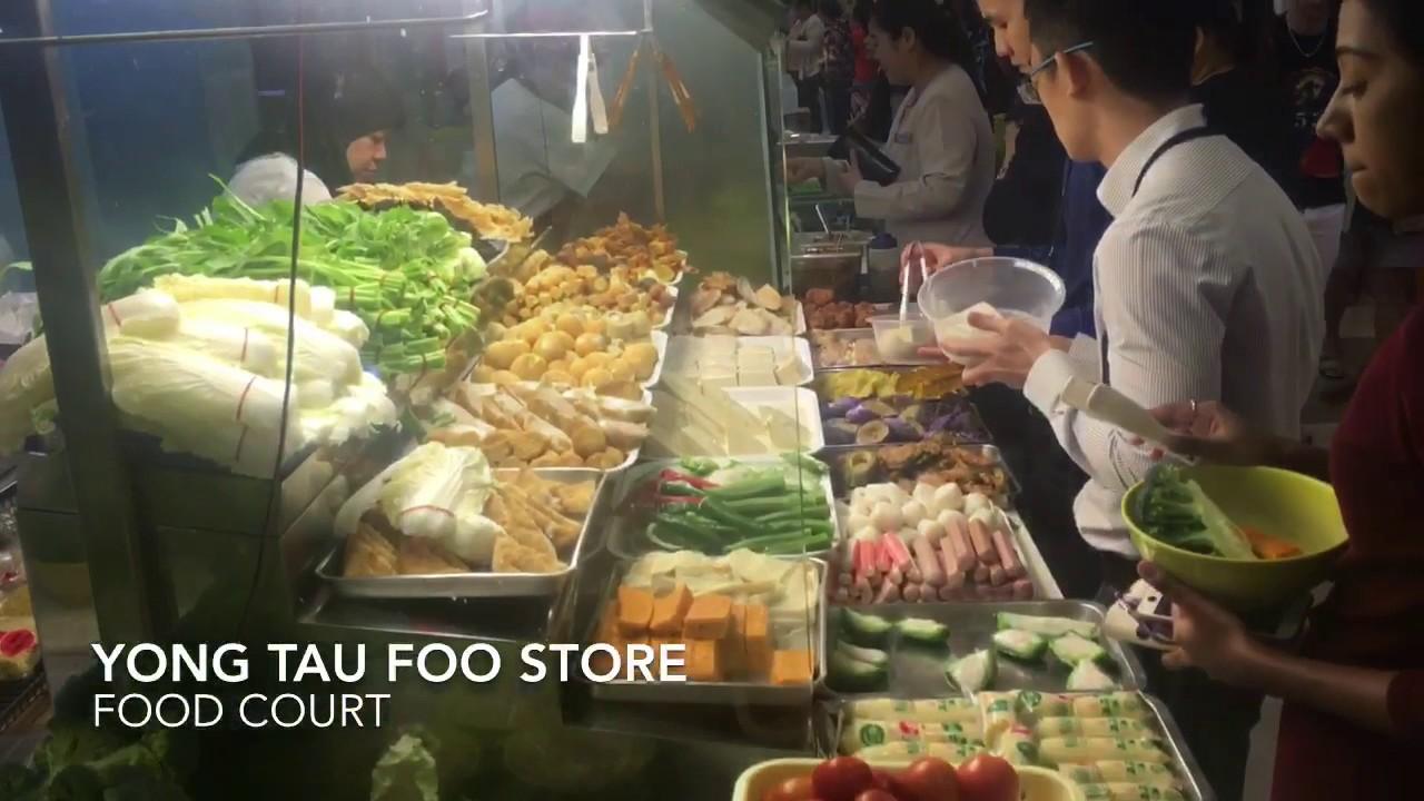 Yong Tau Foo Lunch Kway Teow Soup Youtube