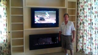 Wallunit With Fireplace By Don Deflavis Construction,llc