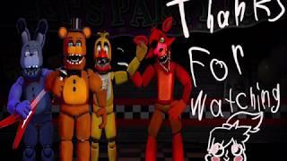 FNaF FNaC Making the Unwithered Animatronics Speededit