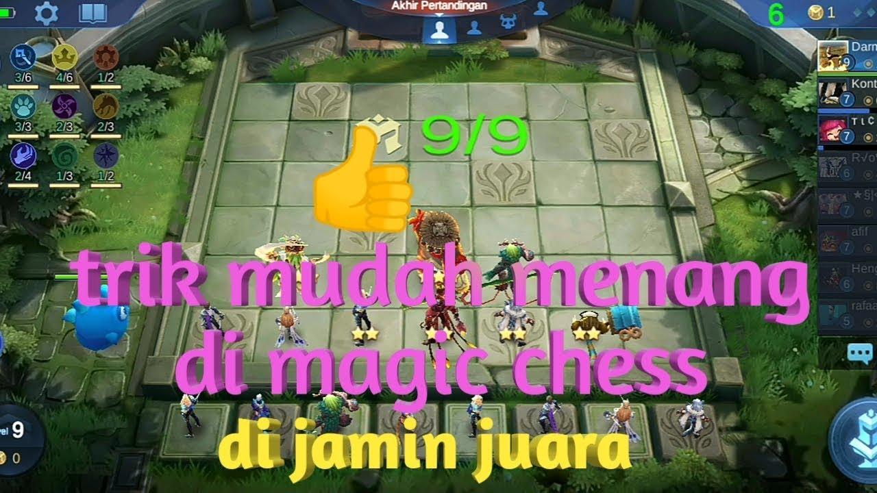 Tips and trik main magic Chess, cara mudah agar menang ...