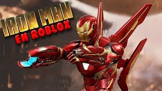 I'M IRON MAN Roblox Iron Man Scripting