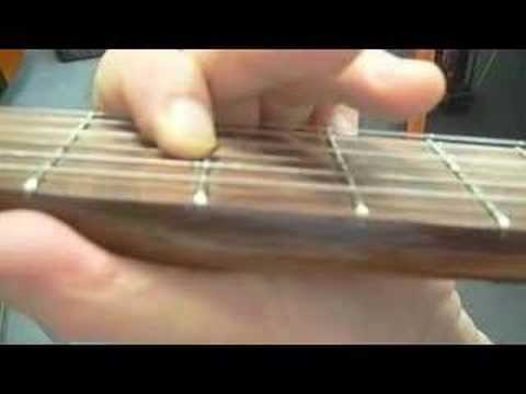 chords and opening Riff for Johnny B Goode
