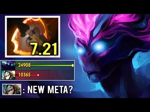NEW WAY TO FARM FAST Battle Fury Spectre Hard Lane Abyssal Top China Intense Game 7.21 Dota 2 thumbnail