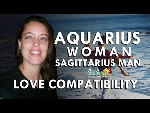 Aquarius Woman And Sagittarius Man - A High Flying
