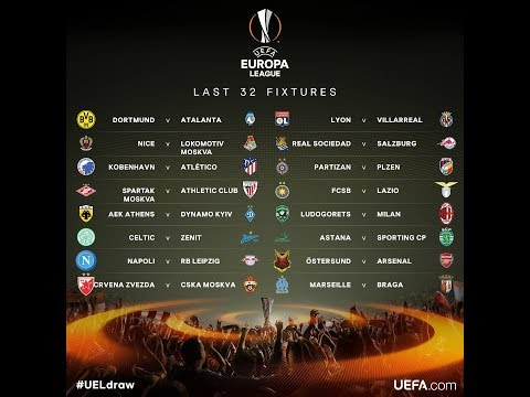 Predictii 16-imi UEFA Europa League 2018