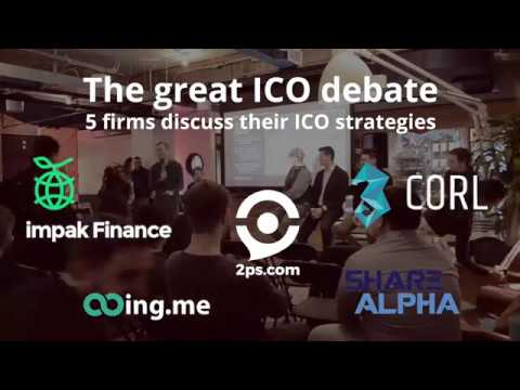 MTL Finance & Technology - The great ICO debate: 5 firms discuss their ICO strategies!