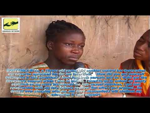 TEENAGE PREGNANCY IN AFRAM PLAINS IN GHANA.