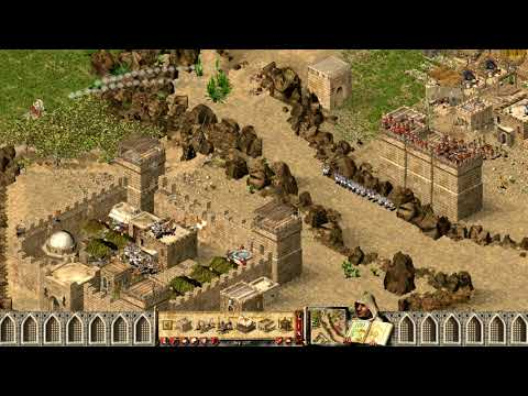 Stronghold Crusader HD Extreme - 12: The Creek (playthrough) |