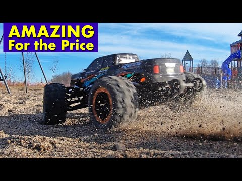 One Of The Best RC Truck Deals For Christmas - Brushless Motor 4 X 4