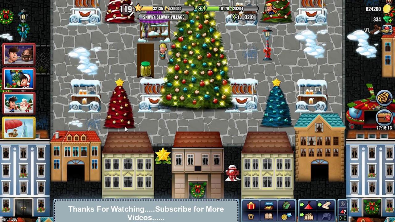 Diggys Christmas 2020 Tasks SNOWY SLOVAK VILLAGE Diggy's Adventure Christmas 2017 Special