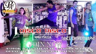Disco Disco A Gentleman Dance Choreography | Amit SagarI Disco Disco