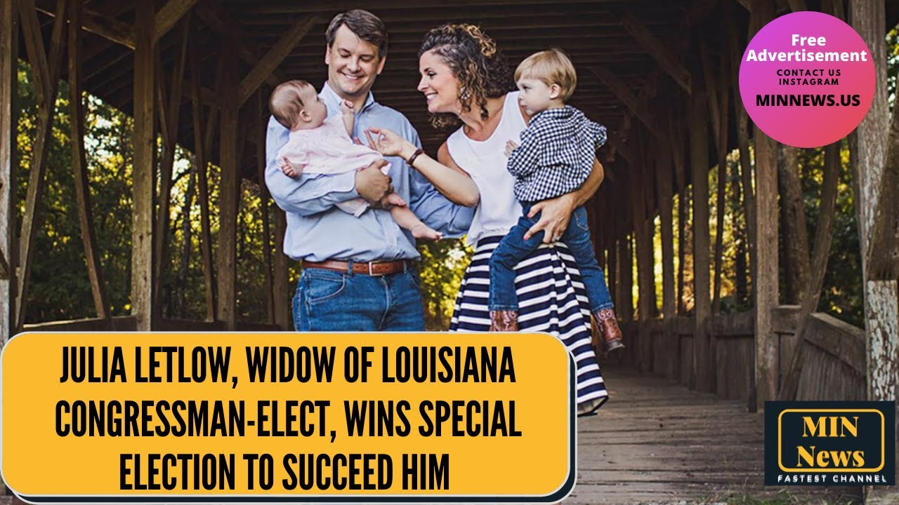 Julia Letlow, widow of Louisiana congressman-elect, wins special ...