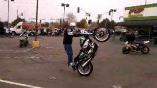 Jason Pullen, Mike on the bike, Sick Rick