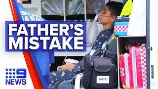 Father's tragic mistake poisons family | Nine news Australia