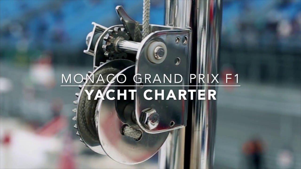 MONACO YACHT CHARTER F1 - YouTube