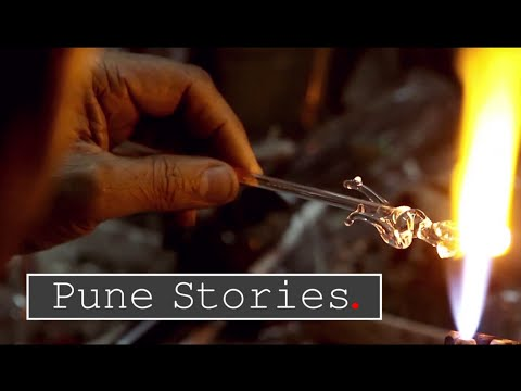 Pune Stories - Rhythm of Fire & Glass | The art of sculpting glass