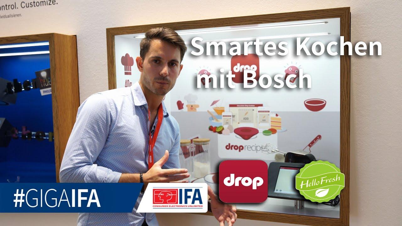Smarter Kochen mit Home Connect, Bosch und der smarten Küchenwaage ...