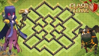 Clash of clans - Town Hall 9 (TH9) Base Layout  + Replays 2016