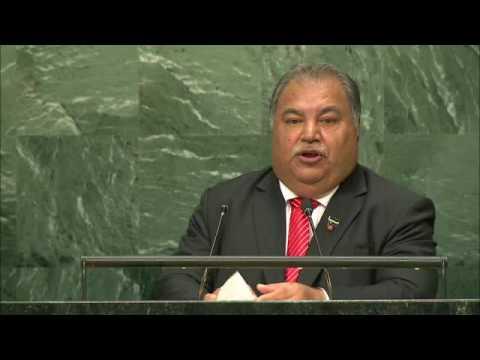 H.E. Mr. Baron Divavesi Waqa, President, Nauru