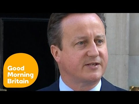David Cameron Quits As Prime Minister After Brexit Vote | Good Morning Britain