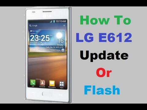 How To Update LG E612 (LG Optimus L5) With KDZ FIle Help Of LG Flash Tool