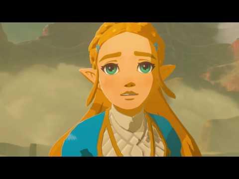 The Legend Of Zelda: Breath of The Wild Link saves Zelda from Yiga Clan