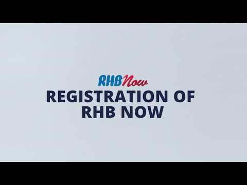 RHB Now Tutorial (1/9): RHB Now Online Registration - YouTube