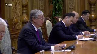 Тоқаев: Шодам, ки ба Тоҷикистон ба ҳайси президенти нави Қазоқистон омадам
