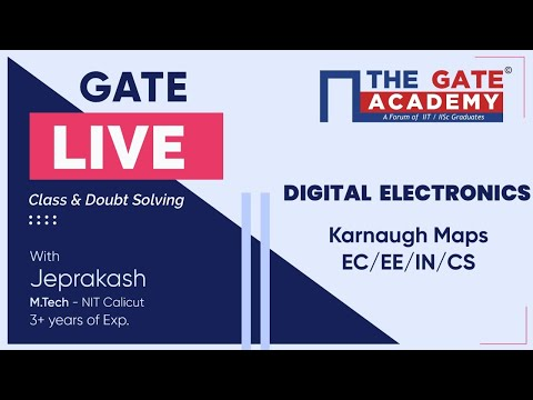 Karnaugh Maps of Digital Electronics | GATE Live Lectures