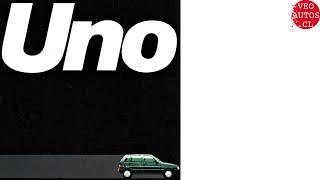 Fiat Uno Brochure 1989.