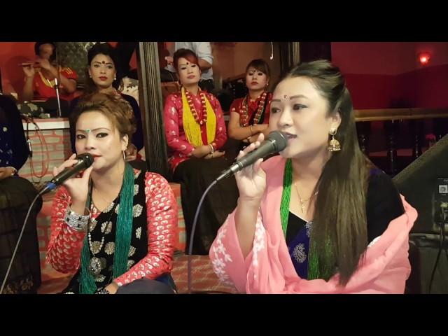 ?????? ????? ??????? Live Dohori Ghamsaghamsi By Prakash Saput & Kumari Gurung  Gambeshi Rodhi