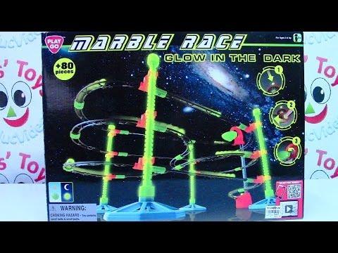 PlayGo Marble Race Glow in the Dark Playset - Kids