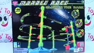 PlayGo Marble Race Glow in the Dark Playset - Kids
