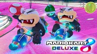 FANTÁSTICO JUEGO EN EQUIPO   RK vs MT   Mario Kart 8 Deluxe Competitivo