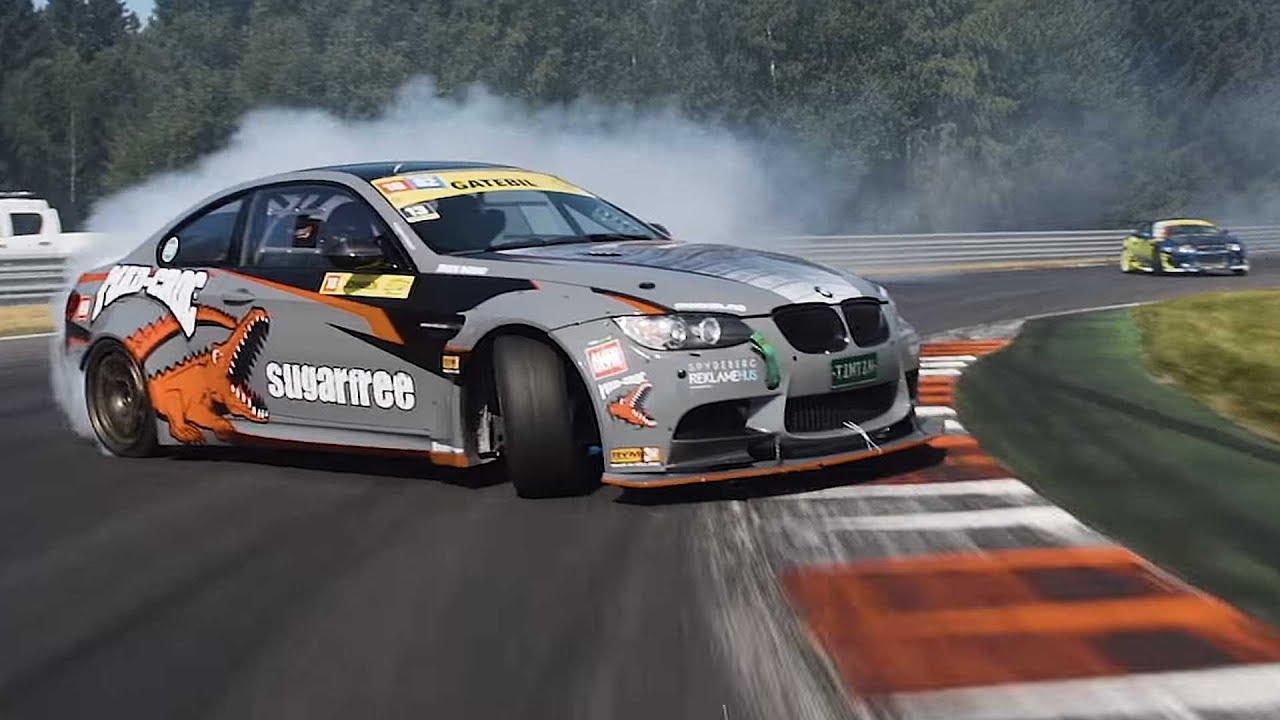 High Speed Drifting (Chase Car Cuts II) - YouTube