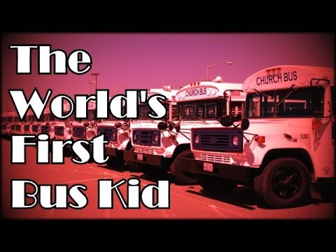 Danny Castle - World's First Bus Kid!!(An OLD CLASSIC)