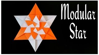 Parati Prata Star (Mandala)- Designed by Carla Onishi - Modular Origami Tutorial from Paper Folds 🙏