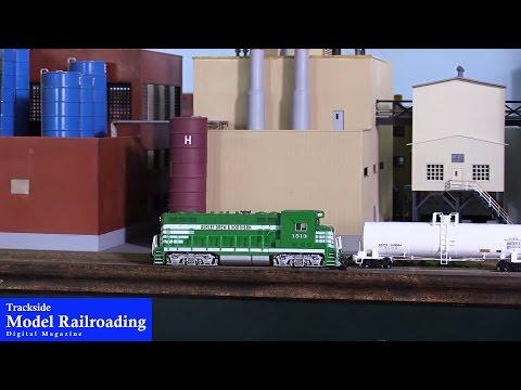 Switching the Paper Mill on the Tillamook, Bay City & Garibaldi Railroad