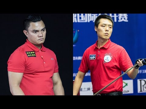 2017 CBSA Liuzhou 9-Ball Open│Jung-Lin Chang 張榮麟 vs. Jeffrey de Luna