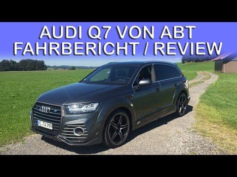 Audi Q7 (2016) von ABT Sportsline - Fahrbericht & Vorstellung | VLOG 028