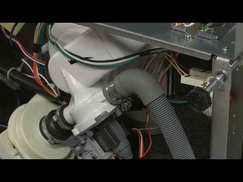 Drain Hose - Whirlpool Dishwasher Repair #WDF550SAFS