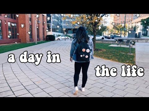 A Day In The Life At College (drexel University) // Ashley Claire