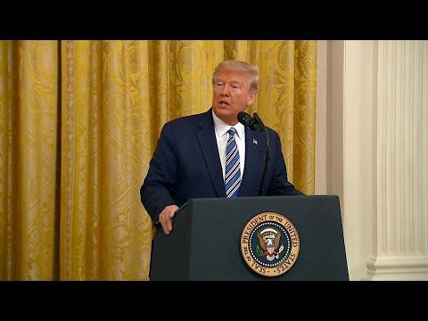 Coronavirus: Donald Trump estime que