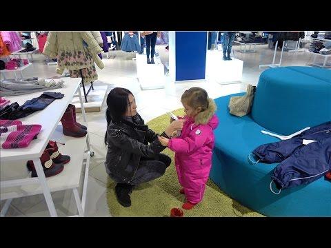Чёрная пятница VLOG Шоппинг в детском магазине одежды Покупаем Веронике зимний комбинезон REIMA.