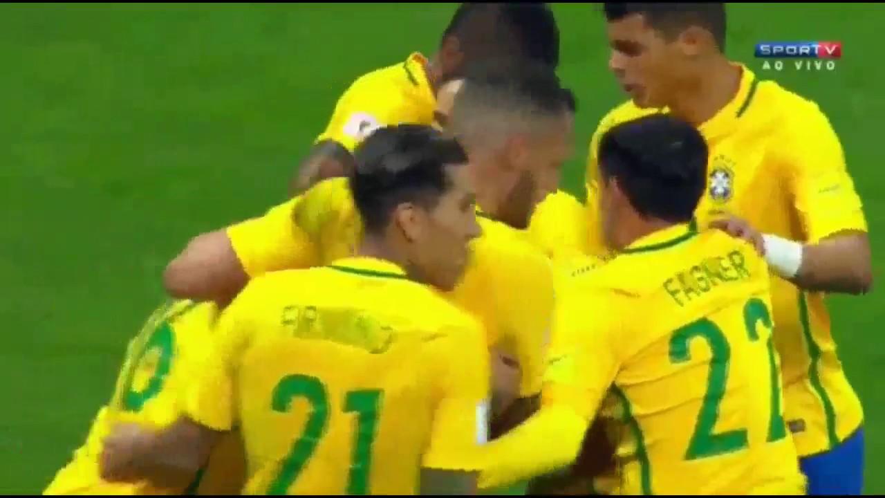 Download Brazil 3 - 0 Paraguay | 28 03 2017