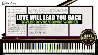 Love Will Lead You Back -Taylor Dayne /Piano Cover Instrumental Tutorial Guide