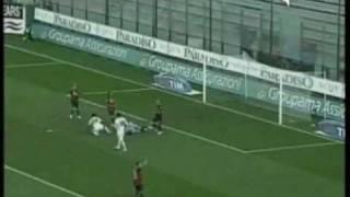 Cagliari Palermo 1 - 0 07/12/2008 Sintesi highlights