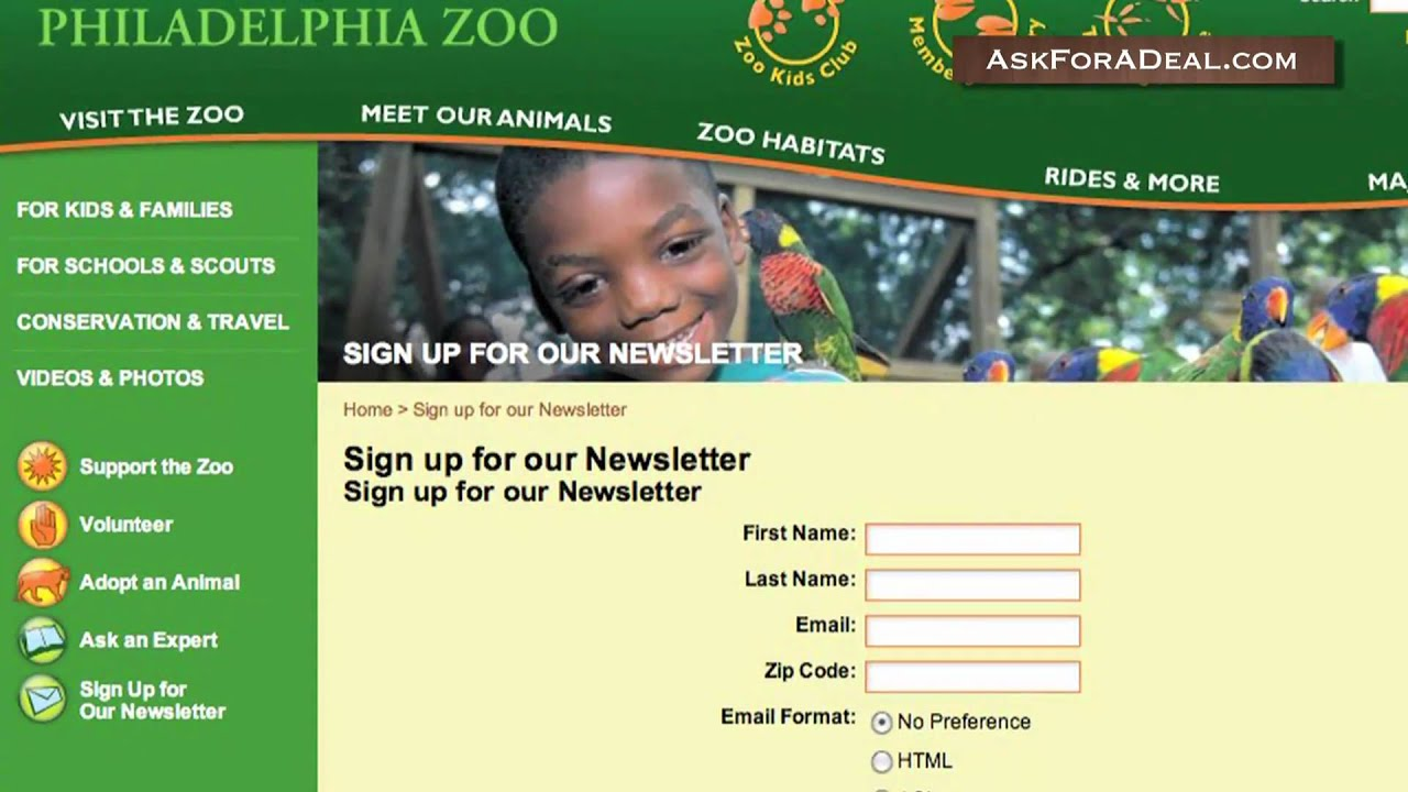 Enjoy today's recommended promotion: Philadelphia Zoo Membership From $ Try to redeem the active Philadelphia Zoo coupon codes at checkout when you place your order at moderngamethrones.ga Grab the biggest savings and enjoy your shopping at Philadelphia Zoo this December