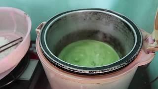Cách nấu xôi lá dứa, nước cốt dừa bằng nồi cơm điện siêu tốc - Cuộc sống quanh ta: Số 179.
